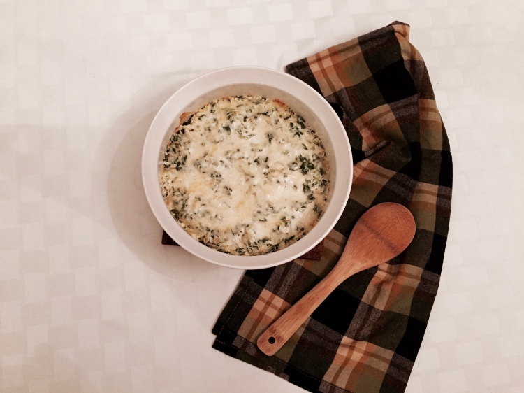 Skinny Spinach and Artichoke Dip - New Kid On The Guac