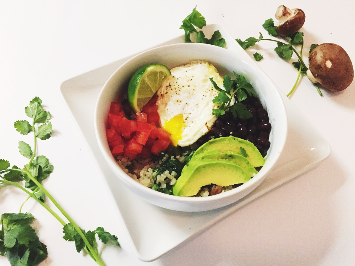 Caulifornia Breakfast Bowl